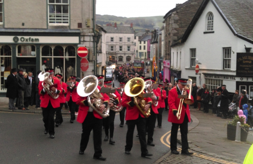 Remembrance Sunday Ulverston