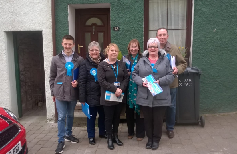 Furness Conservatives on the campaign trail