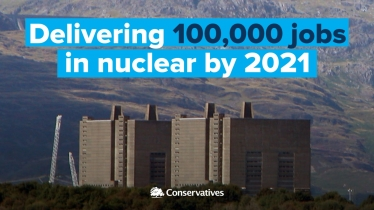 100,000 more jobs in Nuclear, by 2021